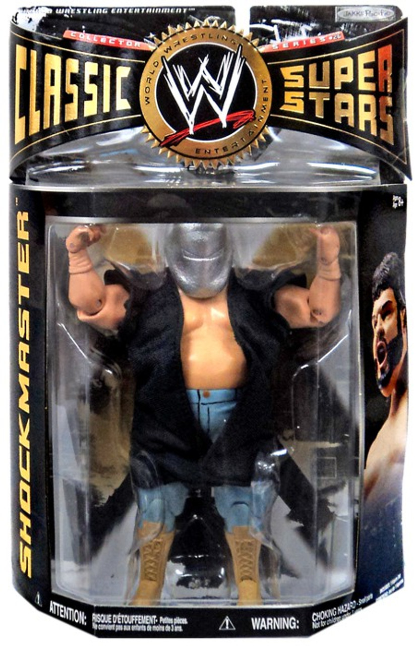 WWE Wrestling Classic Superstars Series 26 Shockmaster Action Figure