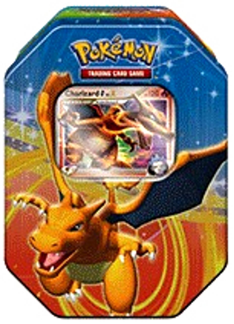 Pokemon Platinum Fall 2009 Charizard Collector Tin