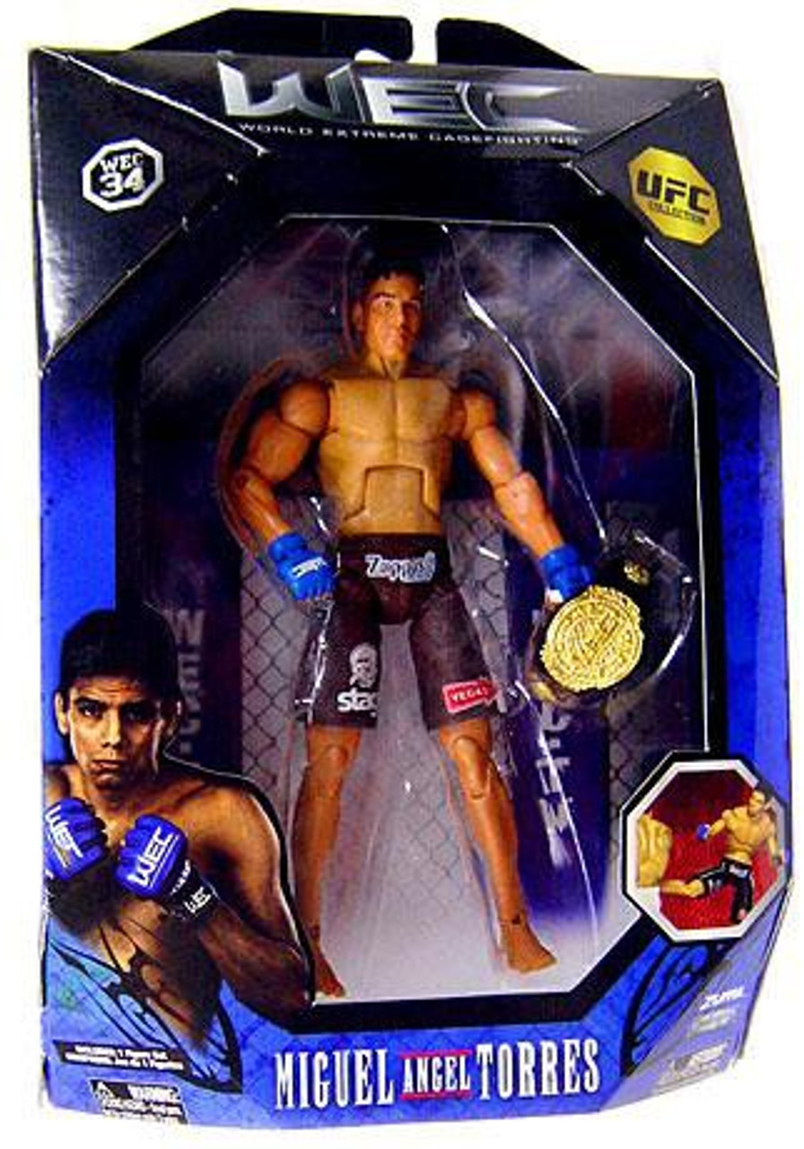 UFC Series 0 Miguel Angel Torres Exclusive Action Figure [WEC]
