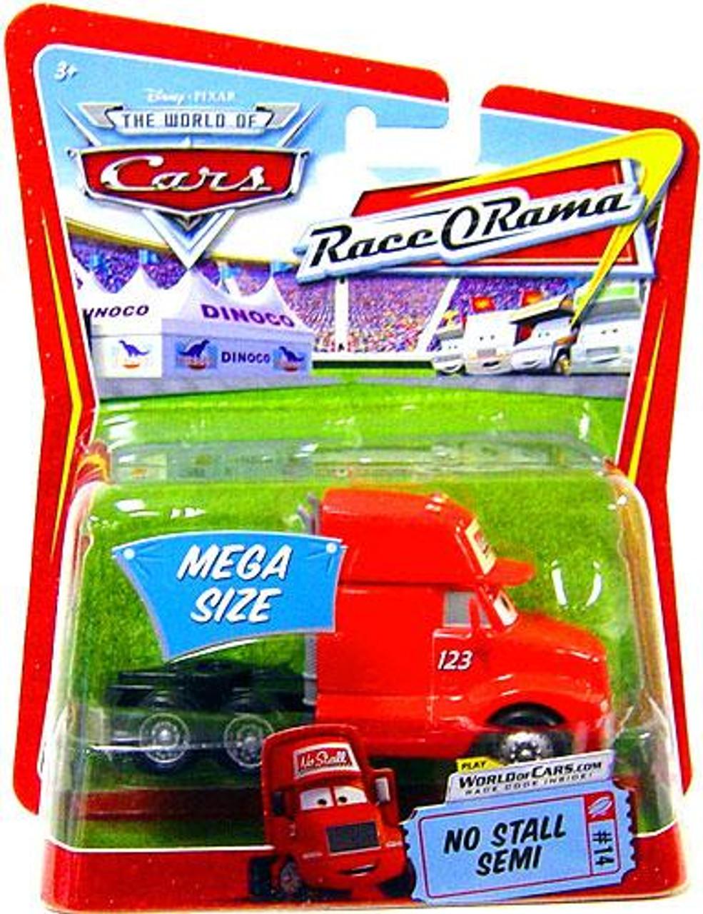 Disney Cars The World of Cars Race-O-Rama No Stall Semi Diecast Car #14