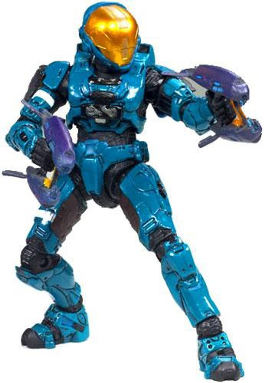 McFarlane Toys Halo 3 Series 6 Medal Edition Spartan Soldier EVA Exclusive Action Figure [Teal]