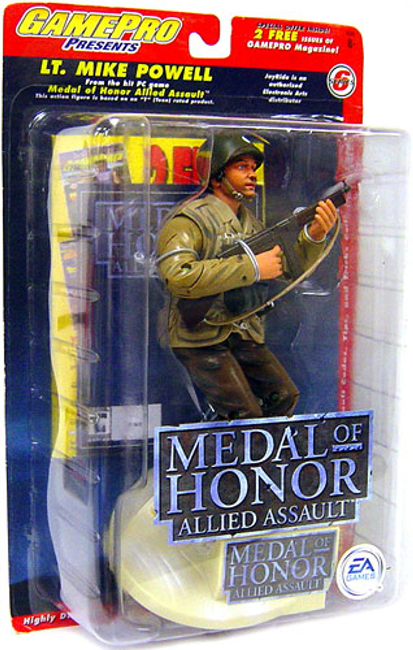 Medal of Honor Allied Assault Lt. Mike Powell Action Figure