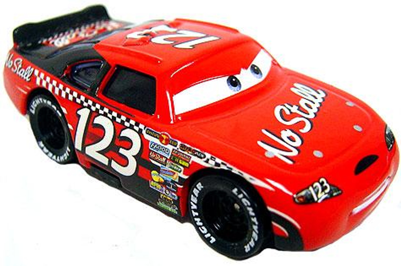 Disney Cars Loose No Stall with Rubber Tires Diecast Car [Loose]