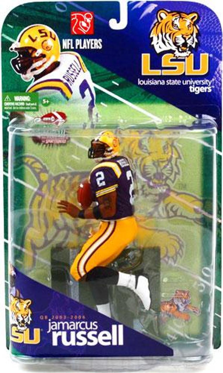McFarlane Toys NCAA College Football Sports Picks Series 1 JaMarcus Russell Action Figure [Purple Jersey Variant]