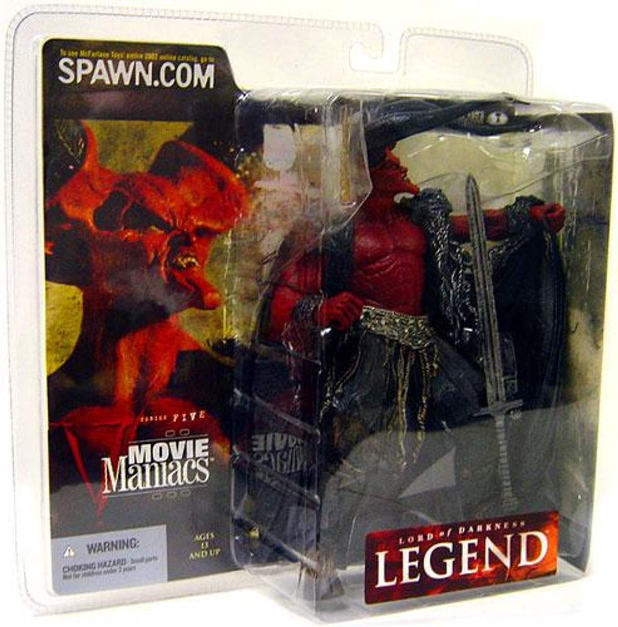 McFarlane Toys Legend Movie Maniacs Series 5 Lord of Darkness Action Figure [Damaged Package, Mint Contents!]