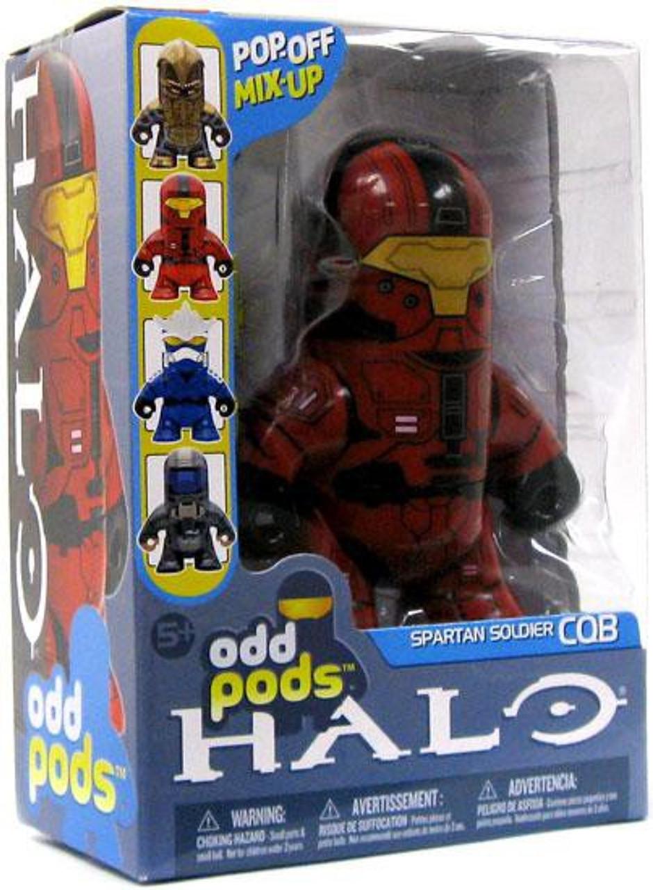 McFarlane Toys Halo 3 Odd Pods Series 2 Spartan Soldier CQB Figure [Red]