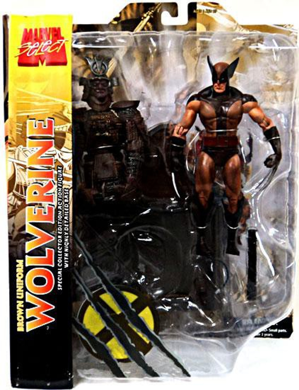 Marvel Select Brown Uniform Wolverine Exclusive Action Figure