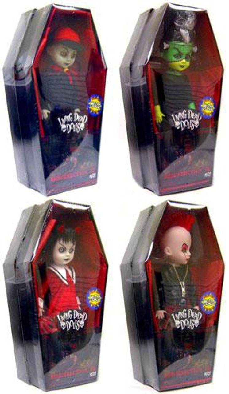Living Dead Dolls Set of 4 Resurrection Exclusive Dolls
