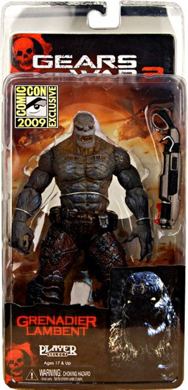 NECA Gears of War Grenadier Lambent Exclusive Action Figure [Lambent Locust]
