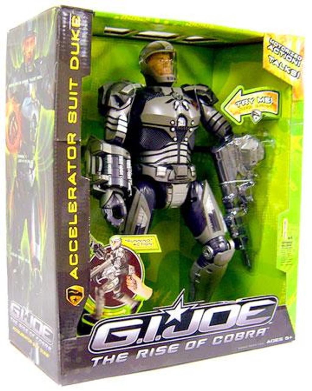 GI Joe The Rise of Cobra Accelerator Suit Duke Action Figure
