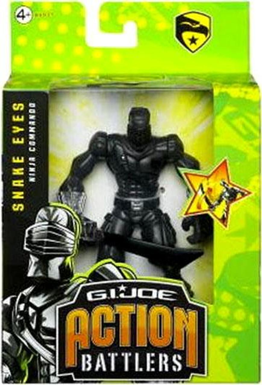 GI Joe The Rise of Cobra Action Battlers Snake Eyes Action Figure