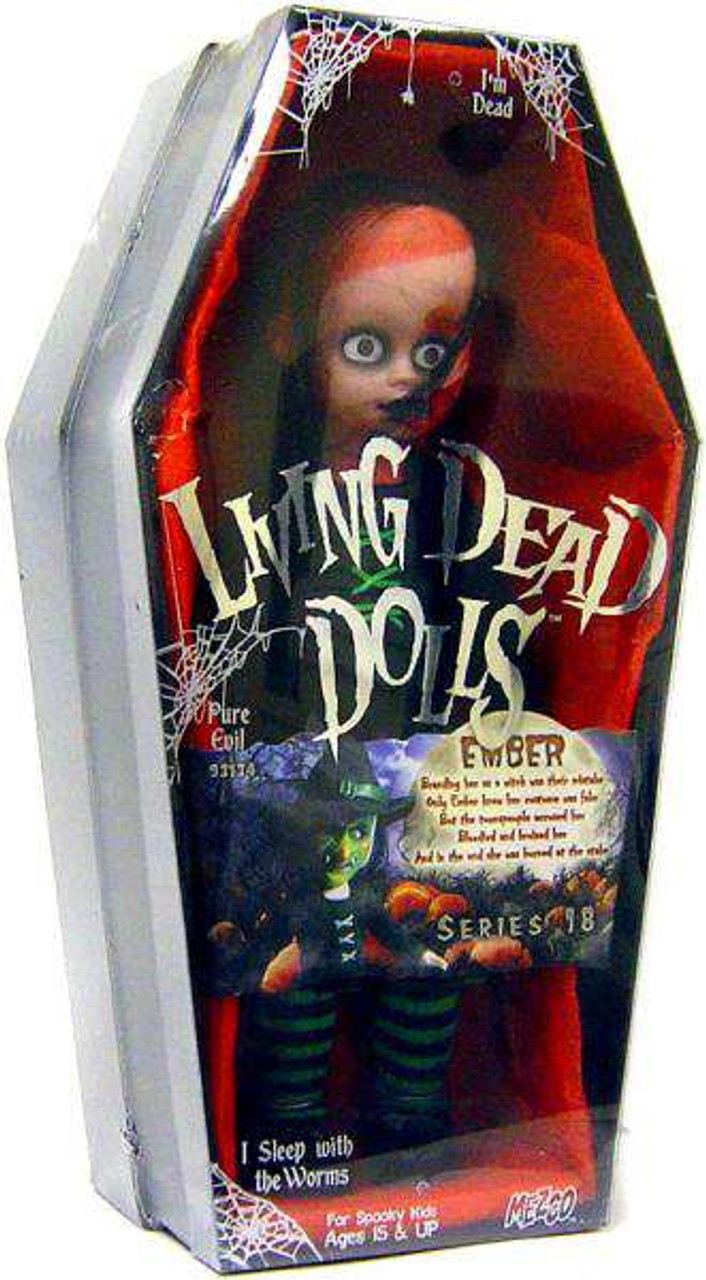 Living Dead Dolls Series 18 Ember Doll