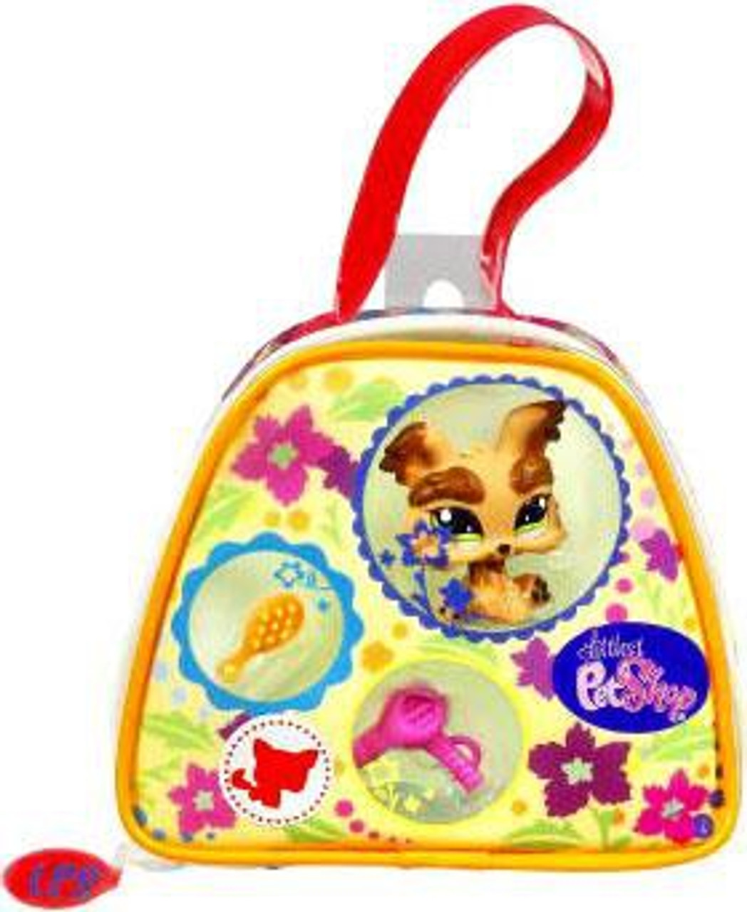 Littlest Pet Shop Yorkie Purse Carry Case