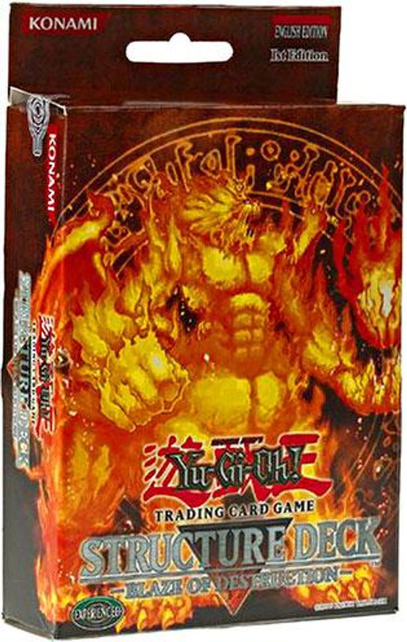 YuGiOh Structure Deck: Blaze of Destruction Blaze of Destruction Structure Deck [1st Edition]
