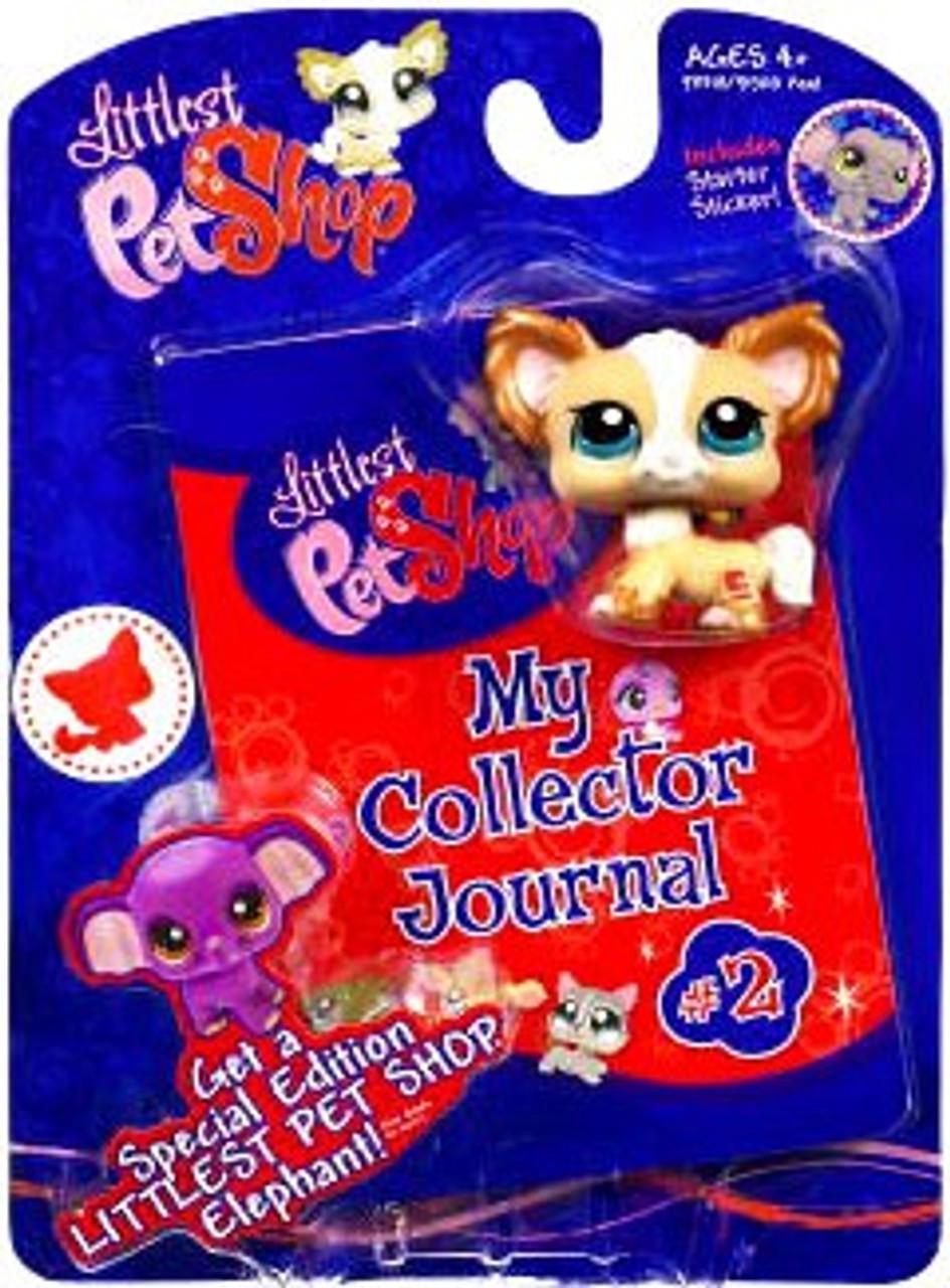 Littlest Pet Shop My Collector Journal Chihuahua Figure