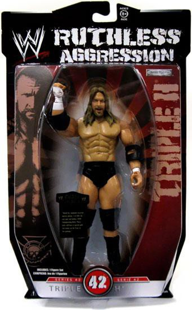 WWE Wrestling Ruthless Aggression Series 42 Triple H Action Figure