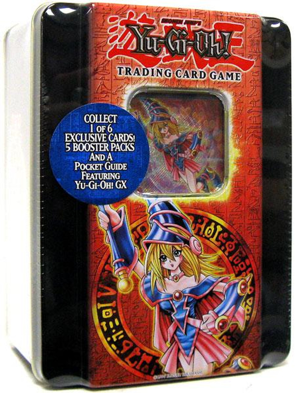 YuGiOh 2005 Collector Tin Dark Magician Girl Collector Tin [Sealed]