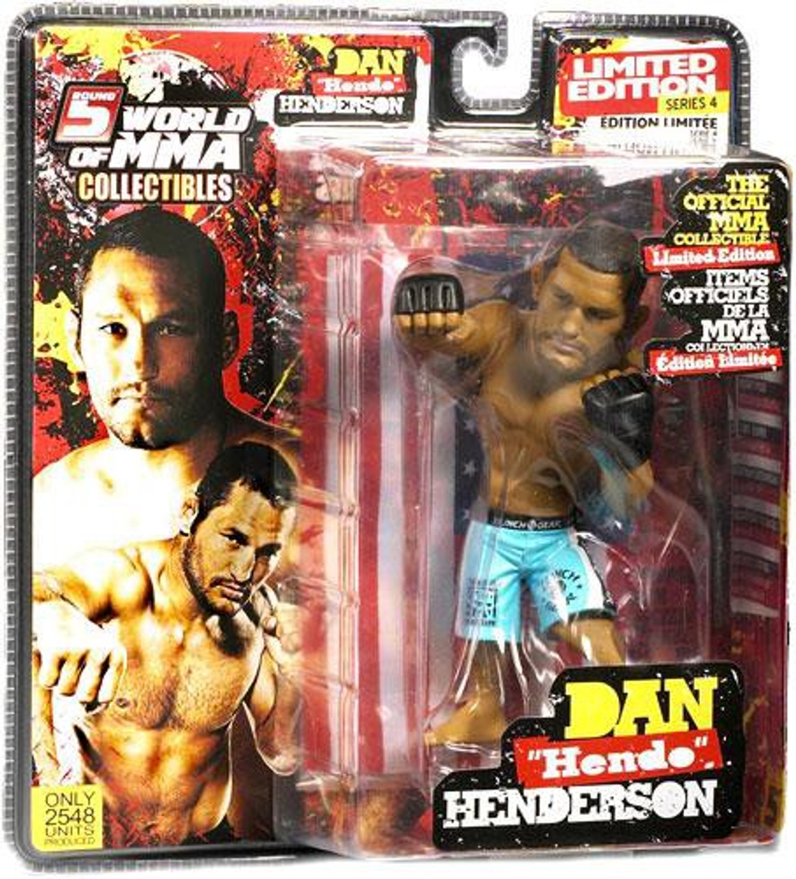 UFC World of MMA Champions Series 4 Dan Henderson Exclusive Action Figure [Limited Edition]