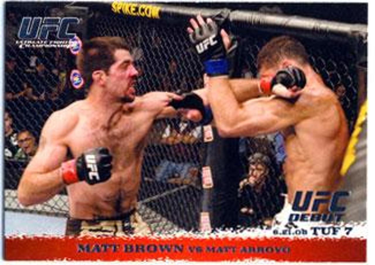 UFC 2009 Round 1 Matt Brown #86