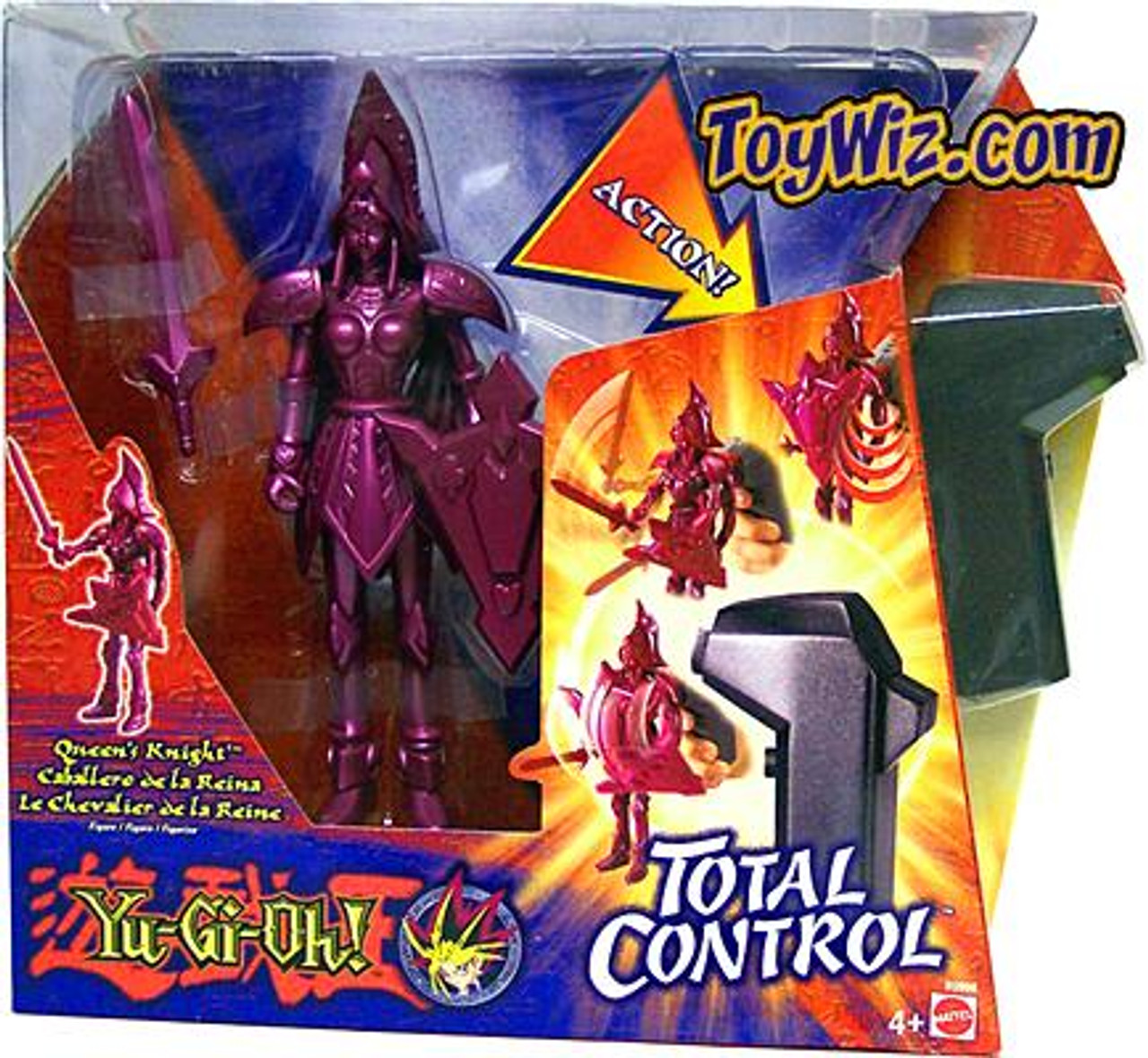YuGiOh Total Control Yugi Queen's Knight Action Figure