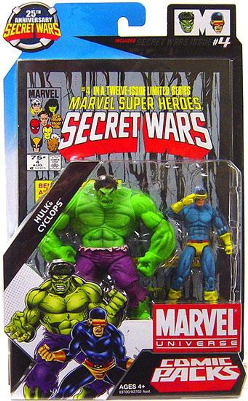 Marvel Universe Hulk & Cyclops Action Figure 2-Pack #4