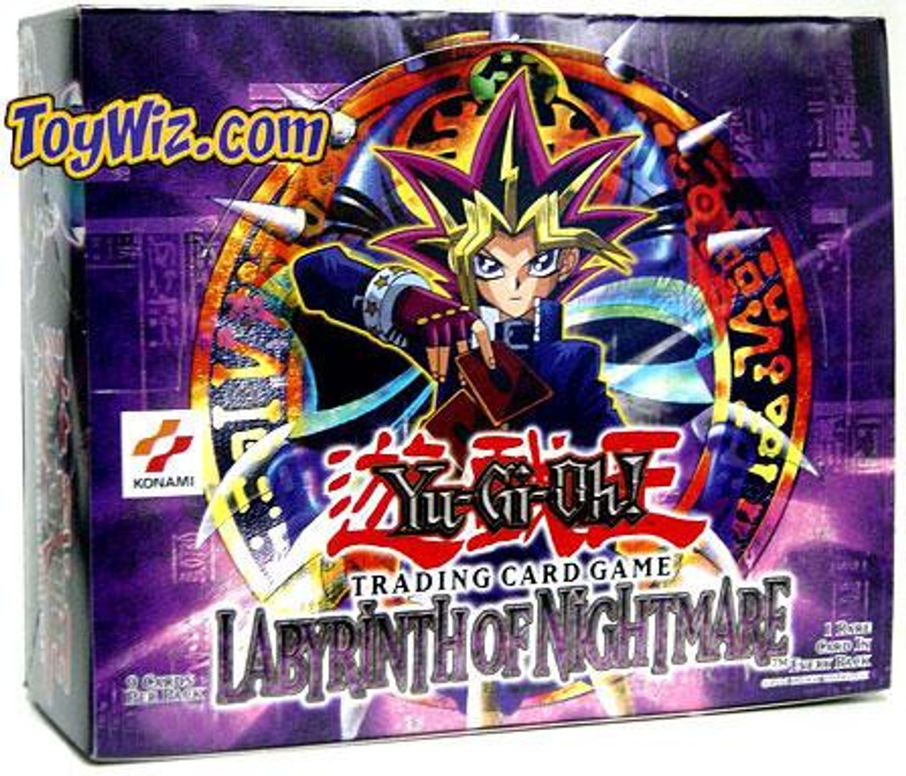 YuGiOh Labyrinth of Nightmare Booster Box [36 Packs] [Sealed]