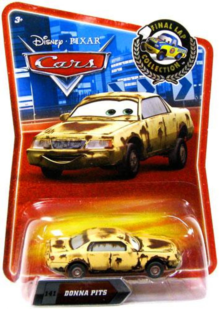 Disney Cars Final Lap Collection Donna Pits Exclusive Diecast Car