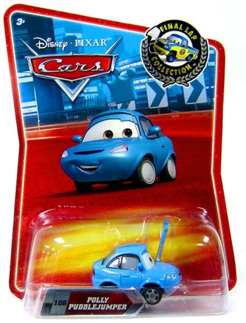 Disney Cars Final Lap Collection Polly Puddlejumper Exclusive Diecast Car
