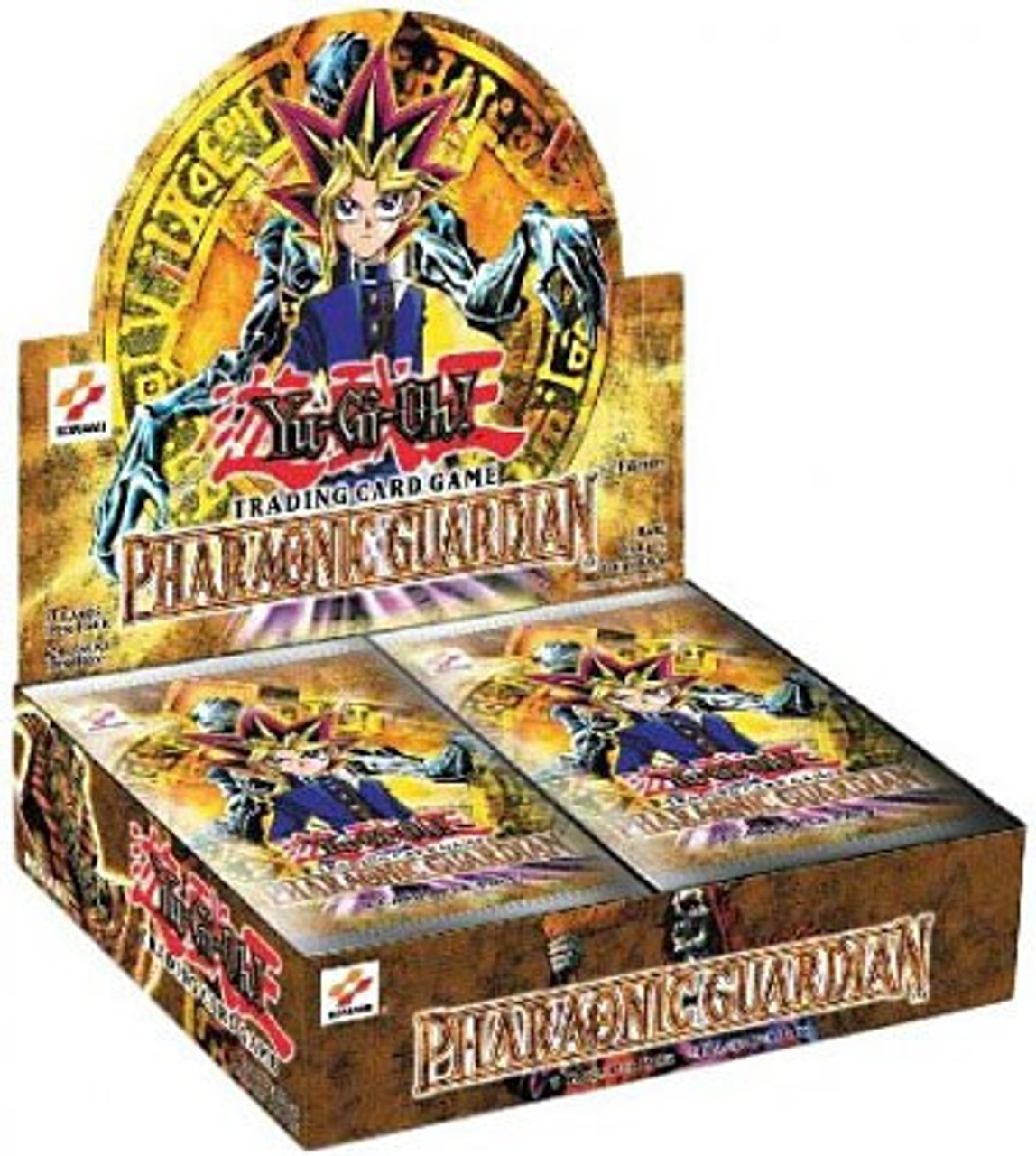 YuGiOh Pharaonic Guardian (1st Edition) Booster Box [24 Packs] [Sealed]