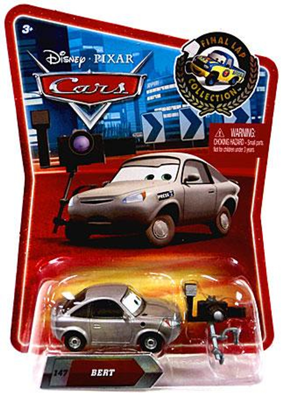 Disney Cars Final Lap Collection Bert the Reporter Exclusive Diecast Car