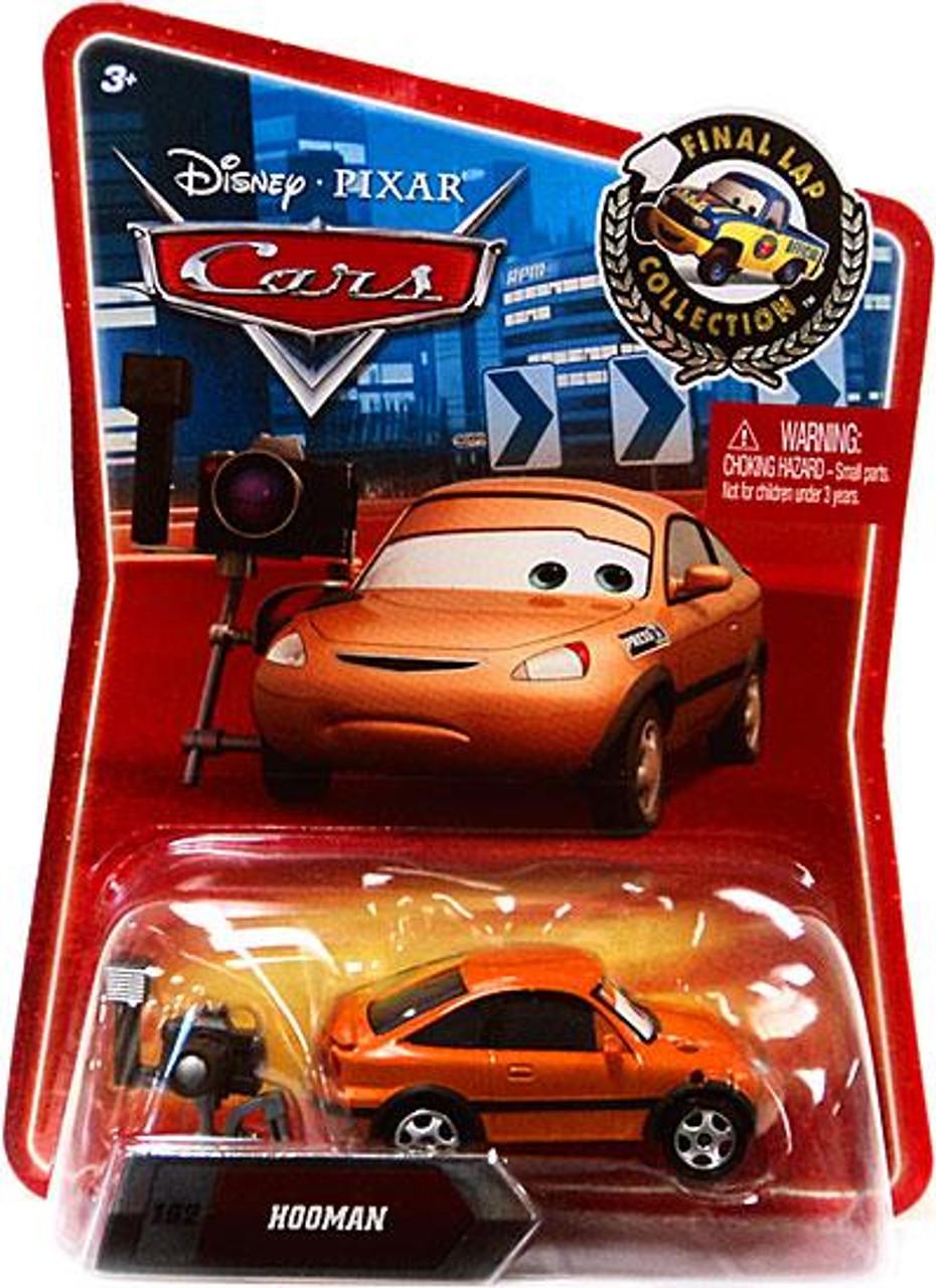 Disney Cars Final Lap Collection Hooman Exclusive Diecast Car