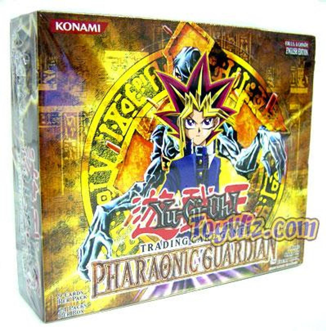 YuGiOh Pharaonic Guardian Booster Box [24 Packs] [Sealed]