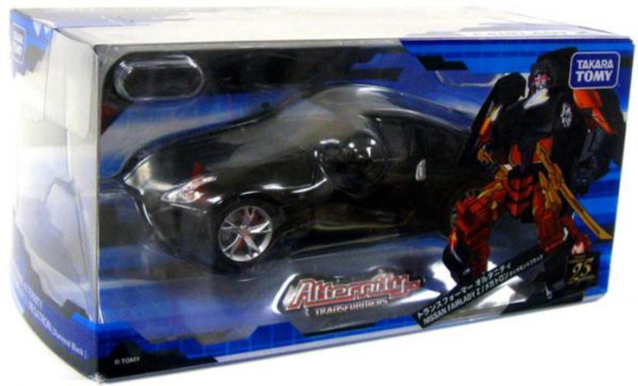 Transformers Japanese Alternity Nissan Fairlady Z Megatron Action Figure A-02 [Diamond Black]