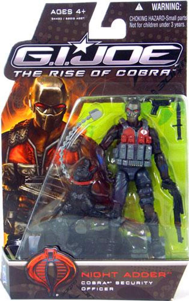 GI Joe The Rise of Cobra Night Adder Action Figure