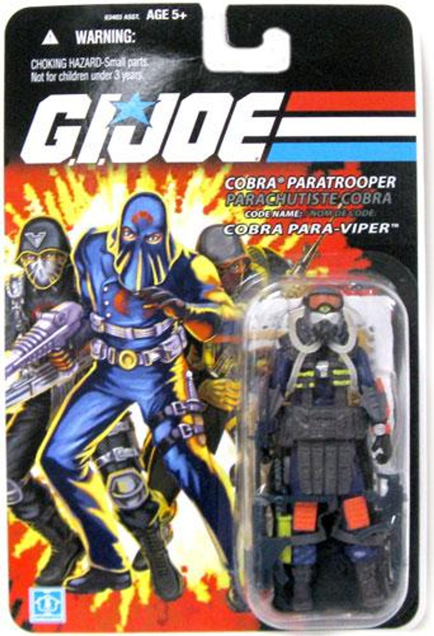 GI Joe Bilingual Package Cobra Para-Viper Action Figure
