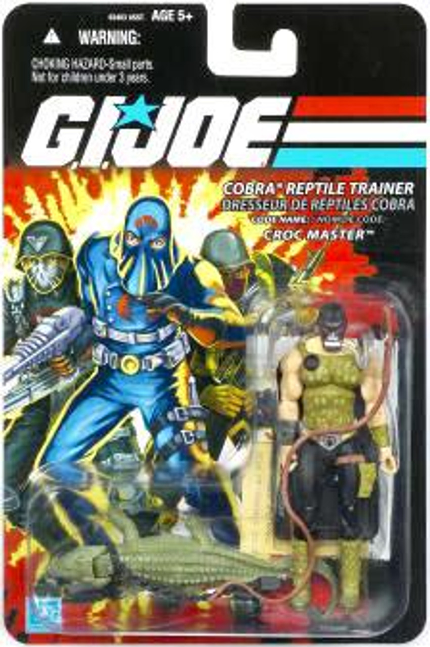 GI Joe Bilingual Package Croc Master Action Figure