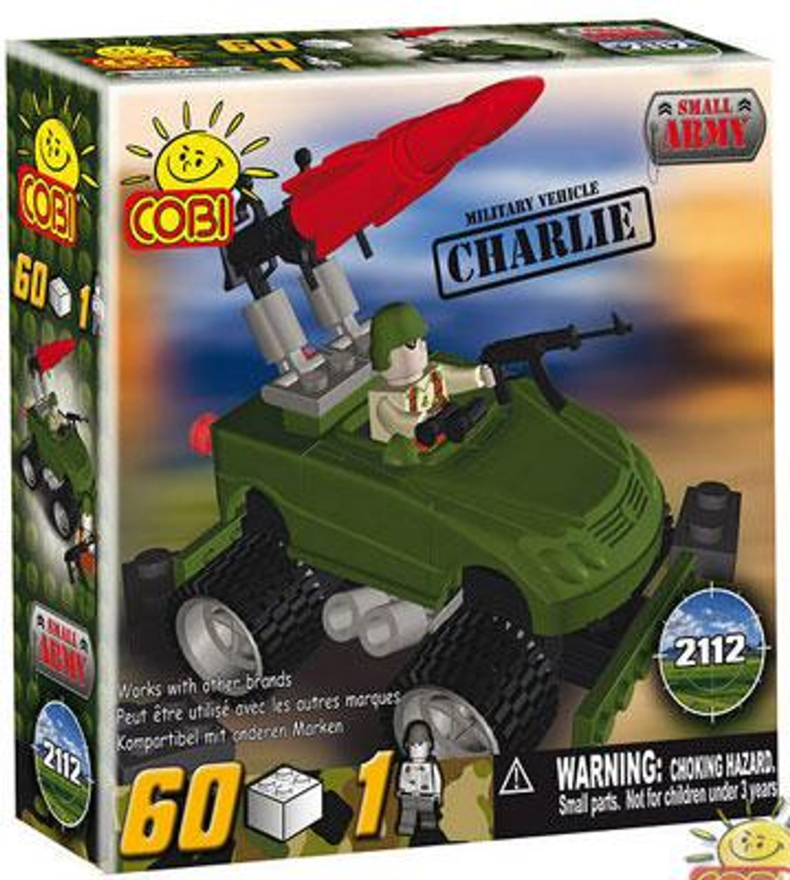 COBI Blocks Small Army Charlie Set #2112