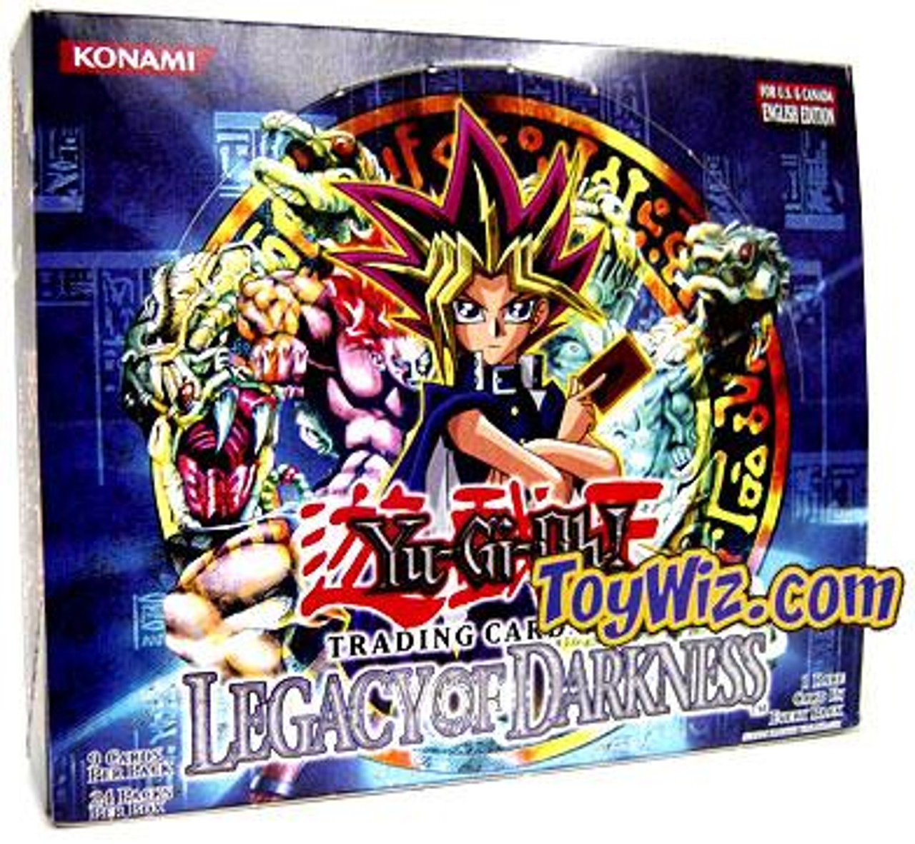 YuGiOh Legacy of Darkness (Unlimited Edition) Booster Box [24 Packs]