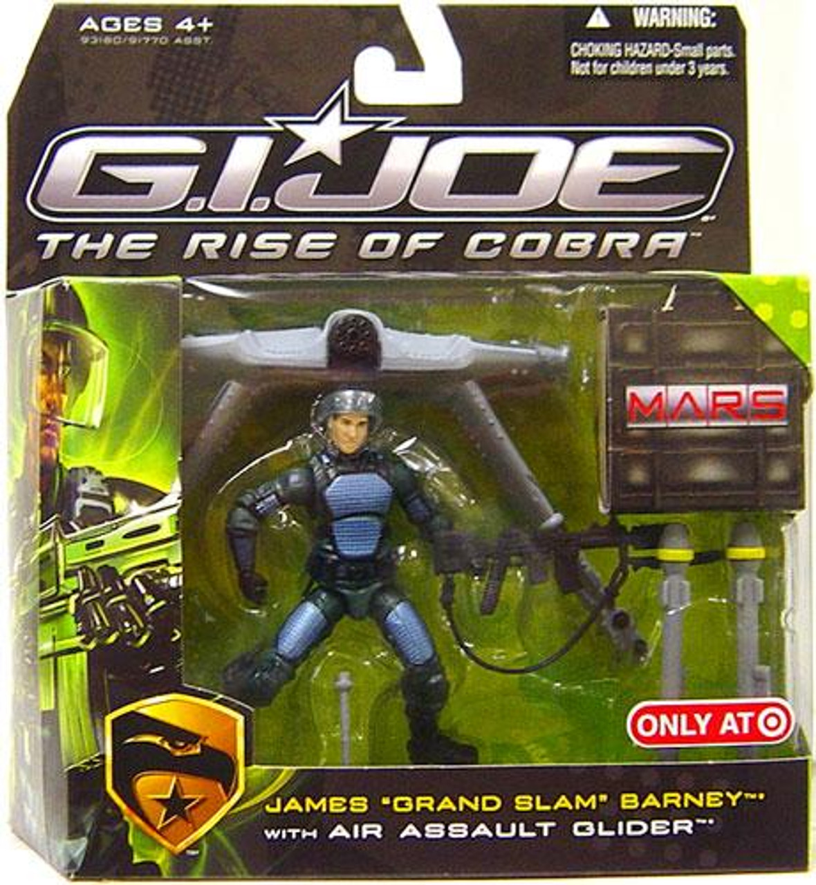 "GI Joe The Rise of Cobra MARS Troopers James ""Grand Slam"" Barney Exclusive Action Figure"