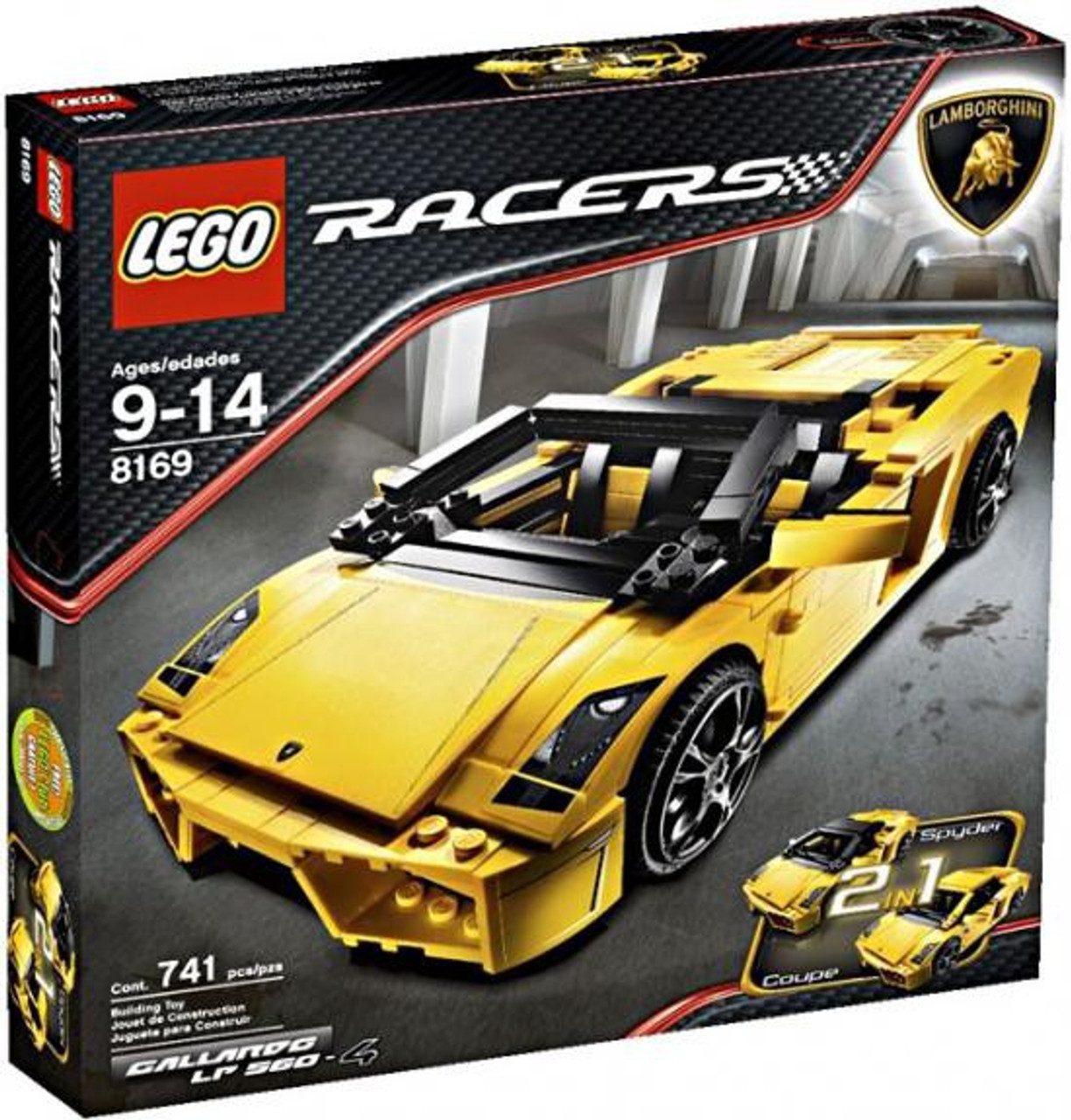 LEGO Racers Lamborghini Gallardo LP 560-4 Set #8169