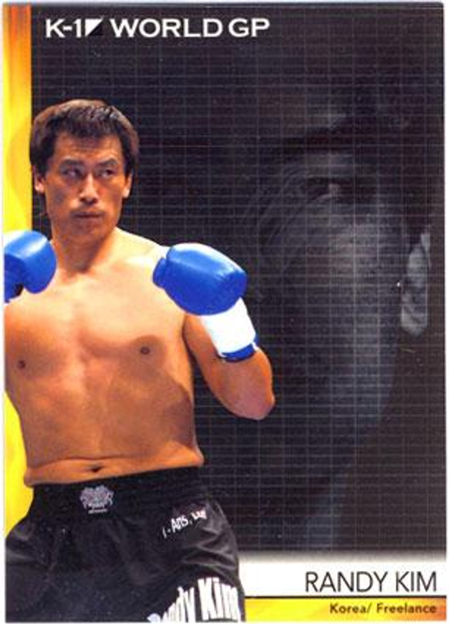 MMA K-1 World GP Randy Kim #13