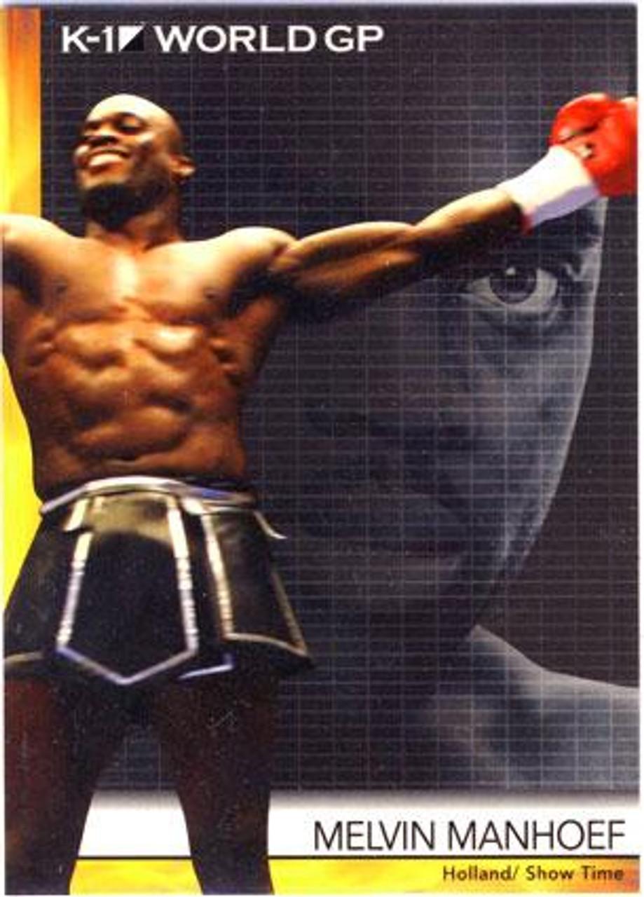 MMA K-1 World GP Melvin Manhoef #22