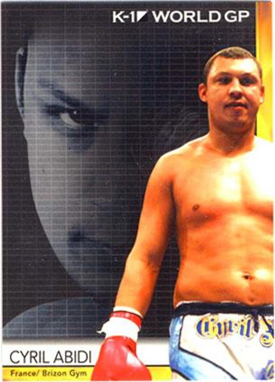 MMA K-1 World GP Cyril Abidi #32