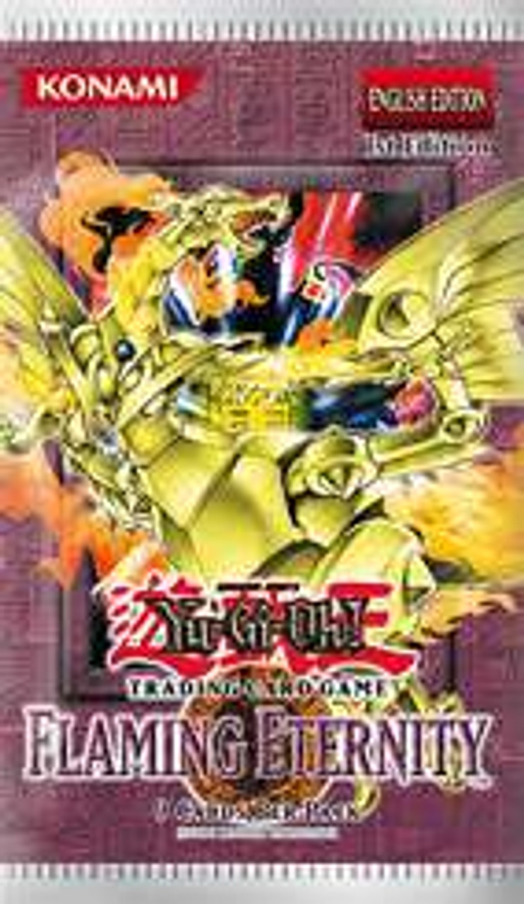 YuGiOh Flaming Eternity Booster Pack