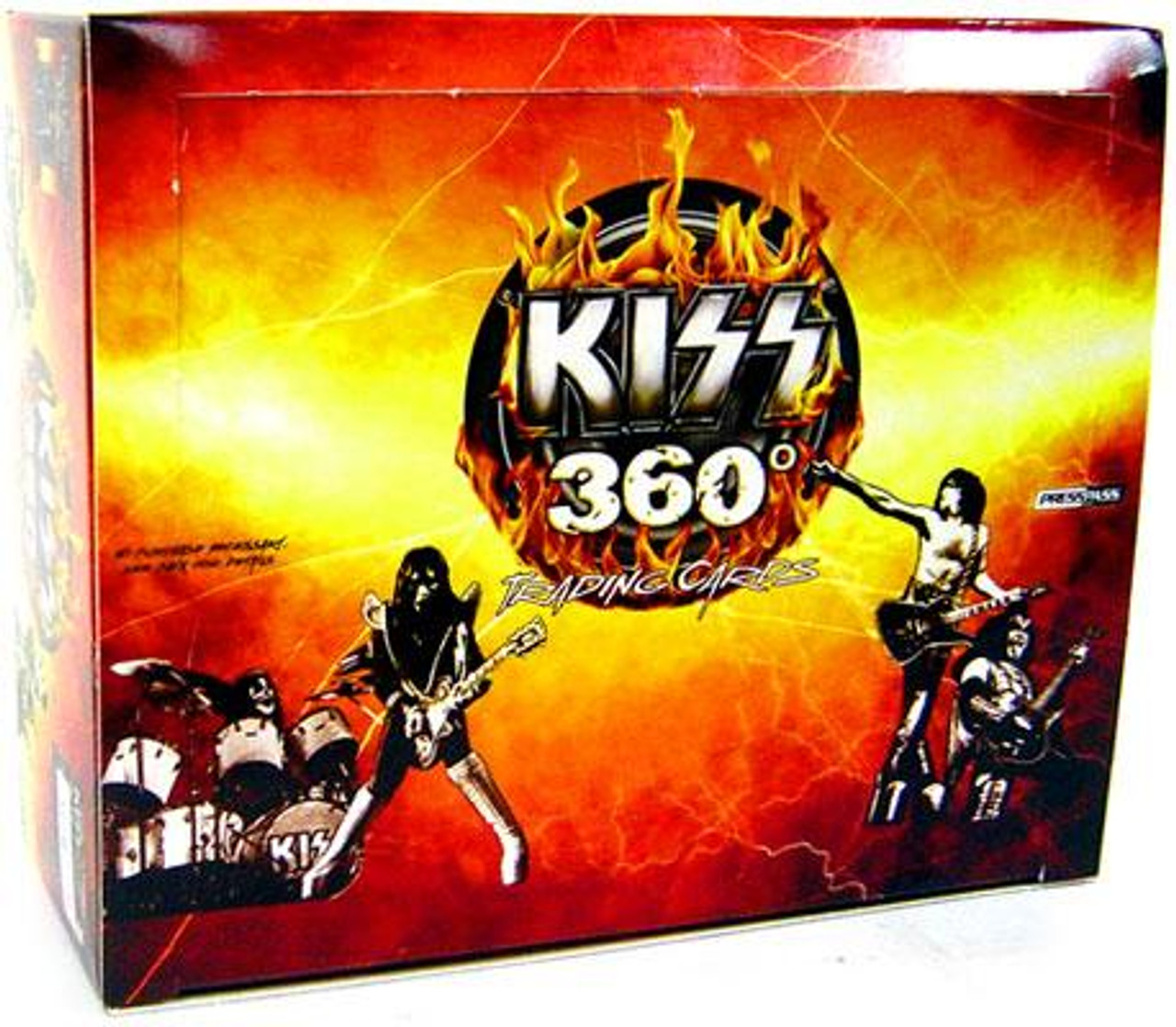 KISS 360 Degrees Trading Card Box