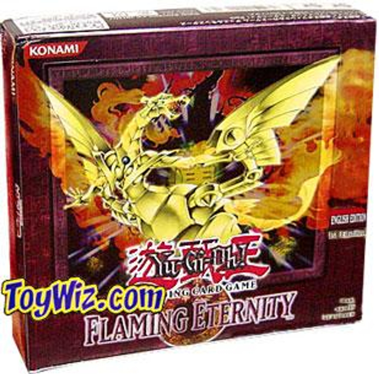 YuGiOh Flaming Eternity (Unlimited Edition) Booster Box [24 Packs]