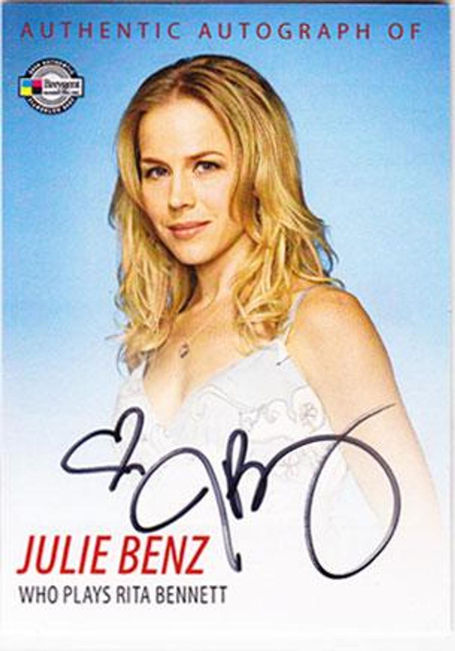 Dexter Julie Benz Autograph Card DA2 [Rita Bennett]