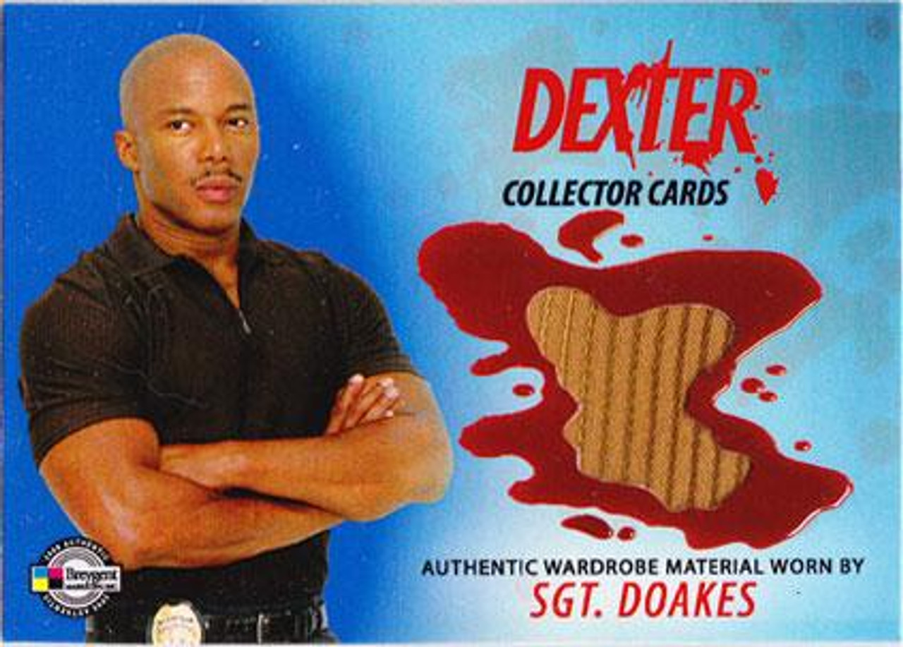 Dexter Trading Cards Costume Card Sgt. Doakes #DC10