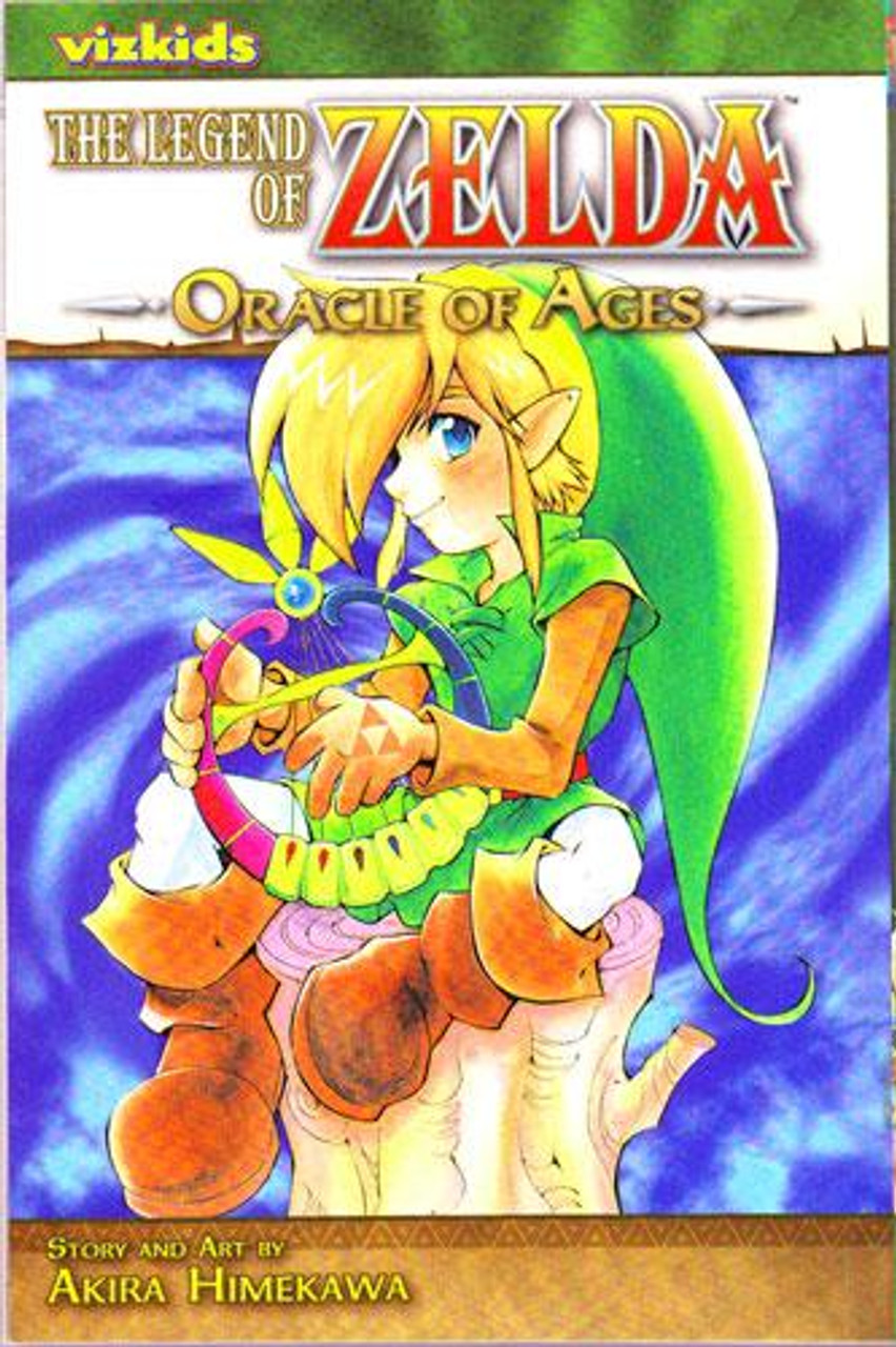 The Legend of Zelda Oracle of Ages Manga [Volume 5]