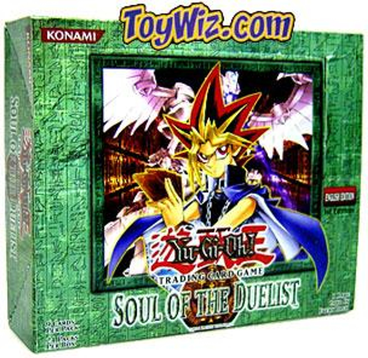 YuGiOh Soul of the Duelist (1st Edition) Booster Box [24 Packs] [Sealed]